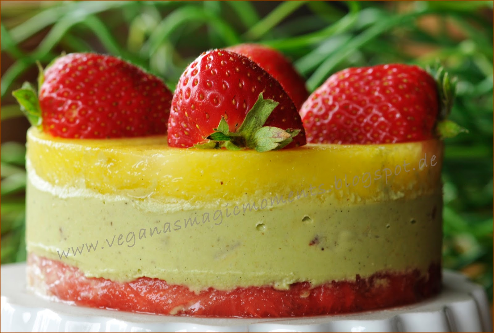 Rohkost avocado torte