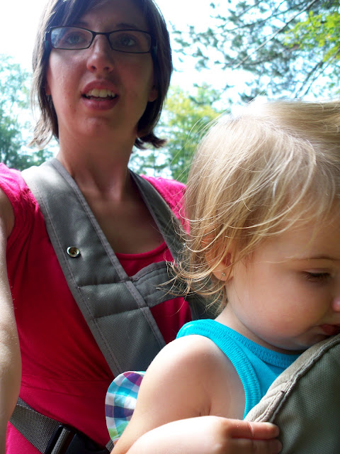 baby wearing  fifteen month old