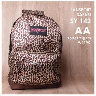 jual online tas ransel murah motif loreng terbaru - safari sy 142