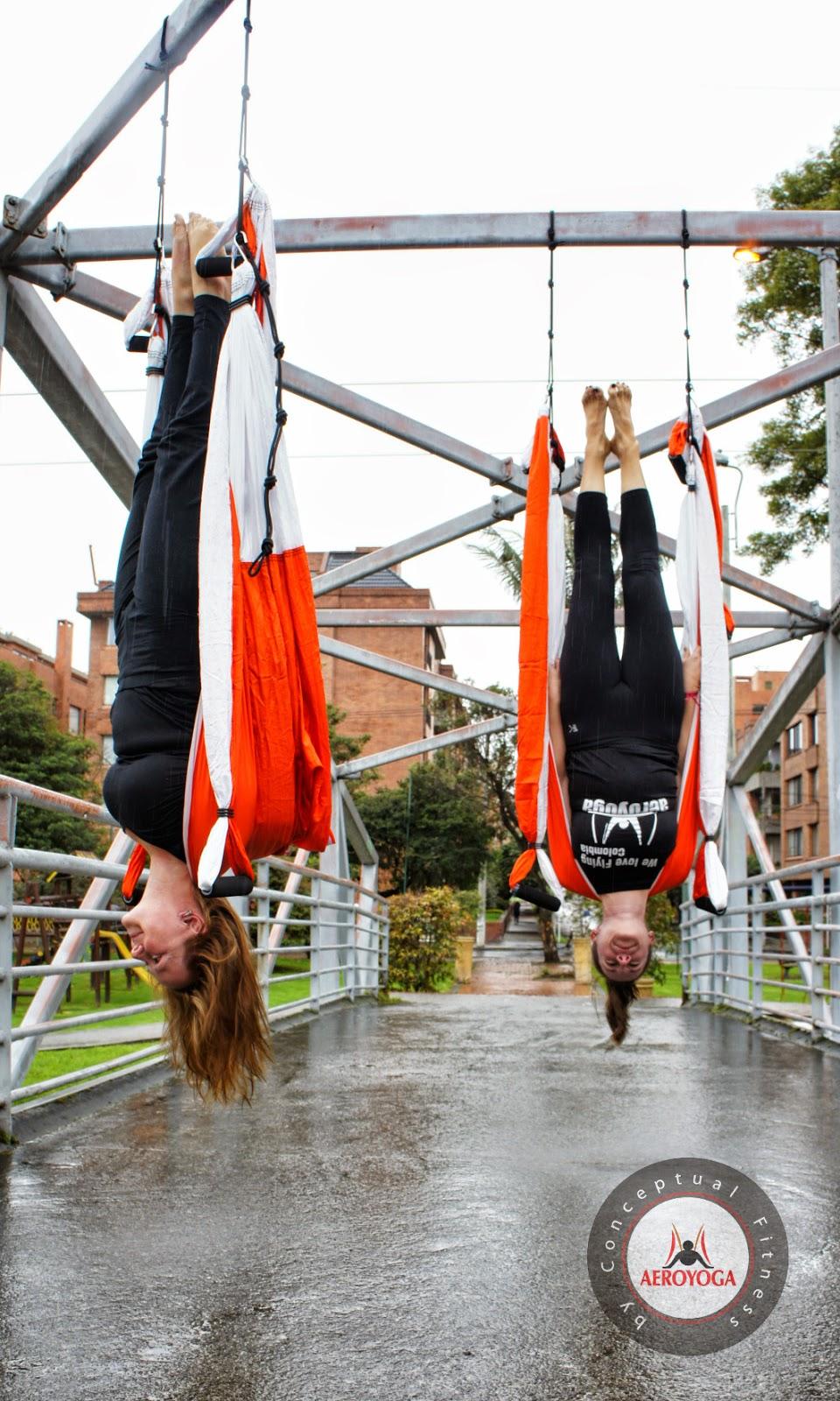 yoga aereo Colombia, Bogotá