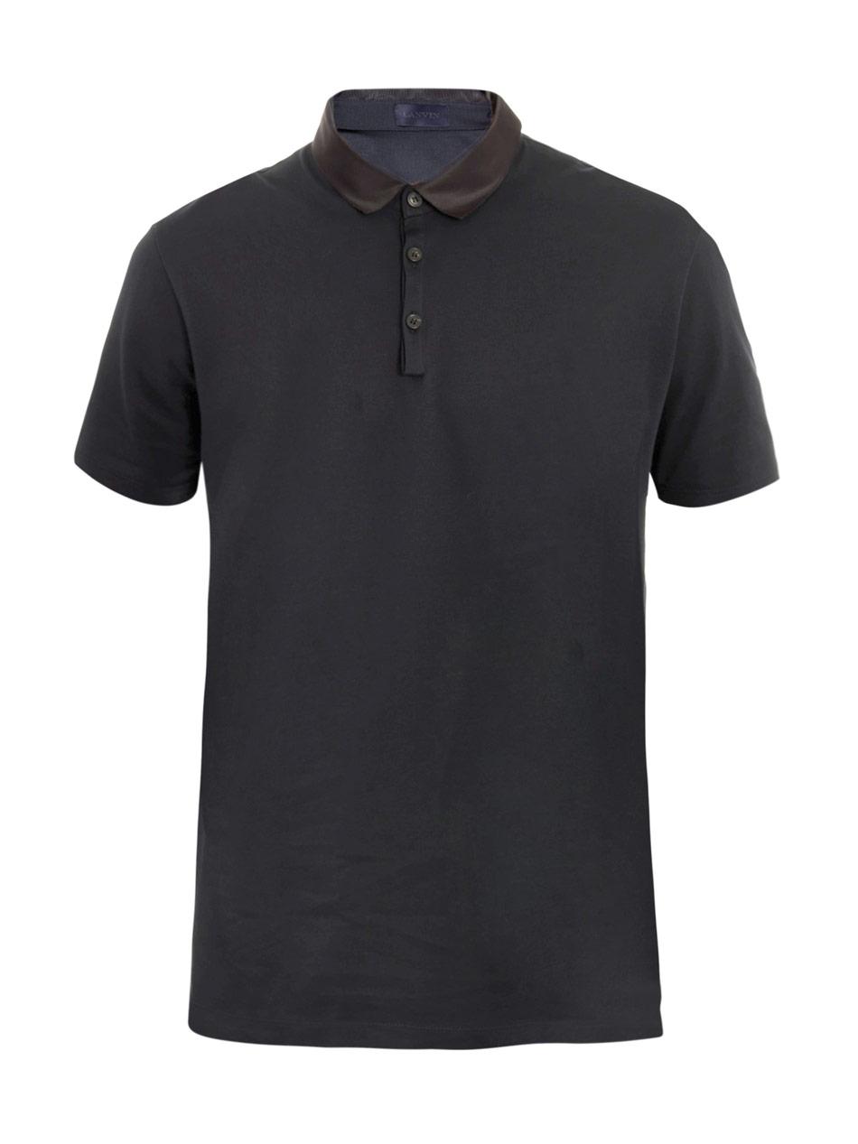 00O00 Menswear Blog: David Beckham in Lanvin grosgrain collar polo t-shirt, Paris Street Style May 2013
