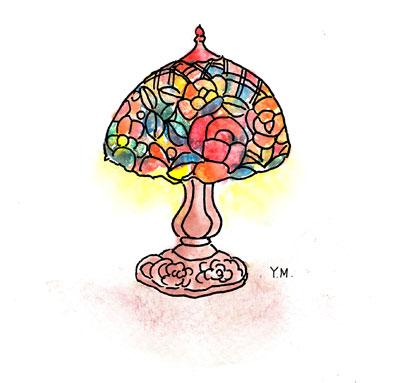 Lamp by Yukié Matsushita