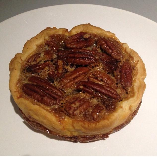 Tartelettes aux noix de pécan de Cyril Lignac