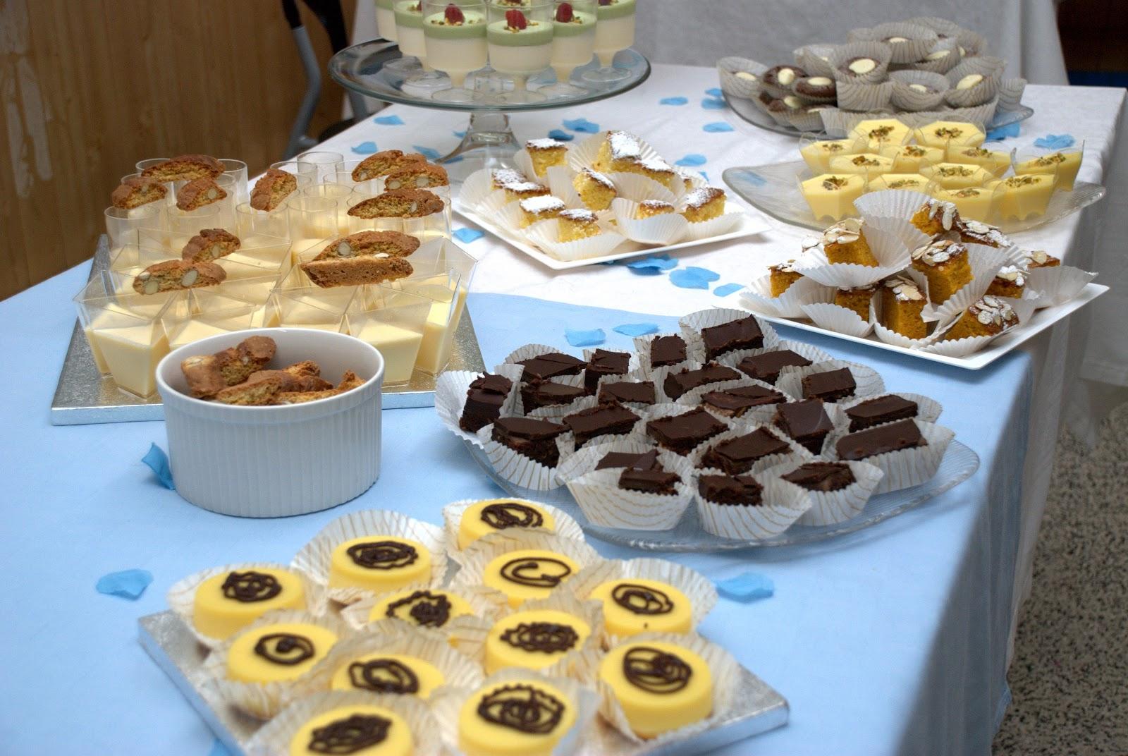 Buffet Di Dolci Battesimo : Buffet di soli dolci per battesimo ricette