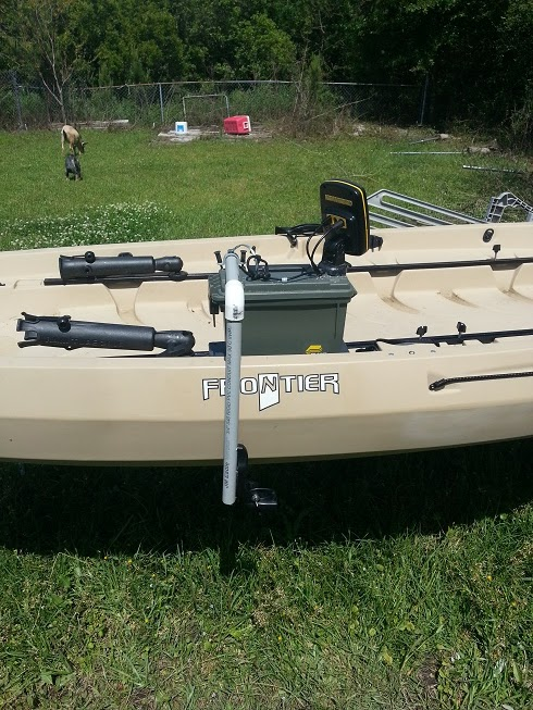 Nobody 39 s kayak tips portable fish finder for Fish finder for kayak