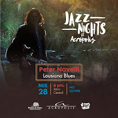 Jazz Nights at Acrópolis presenta, este miércoles 28 de marzo a las 6PM: