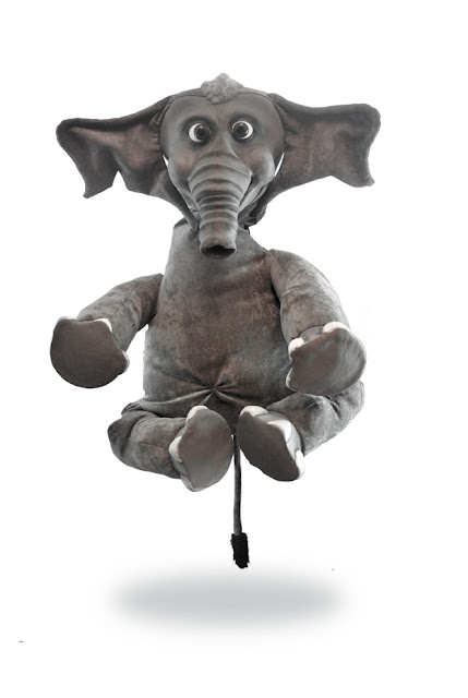 elephant latex puppet full body