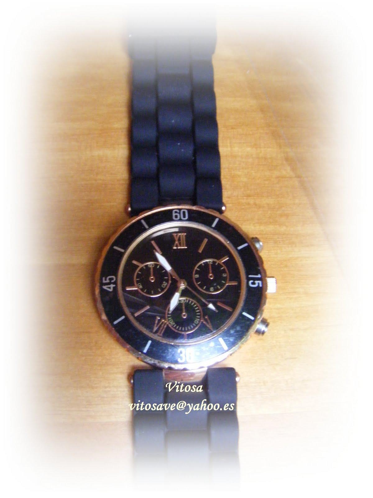 Con abalorios vitosa relojes de dise o se ora - Relojes de diseno ...