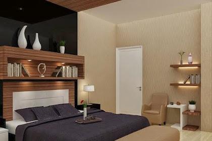 Interior Kamar Tidur Master Bedroom Minimalis Modern harga 350ribu