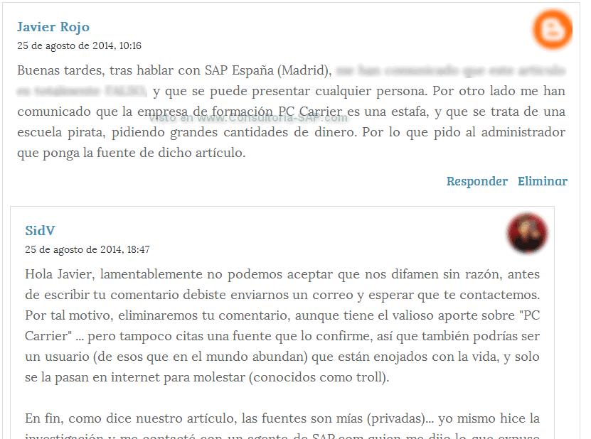 PCarrier - Consultoria-SAP.com