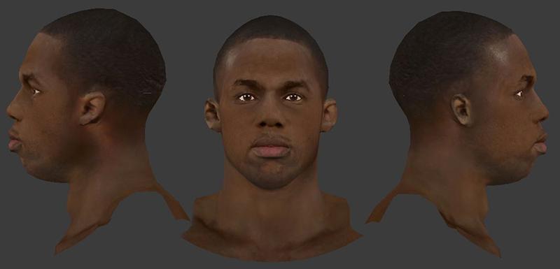 NBA 2K14 Jodie Meeks Face Mod