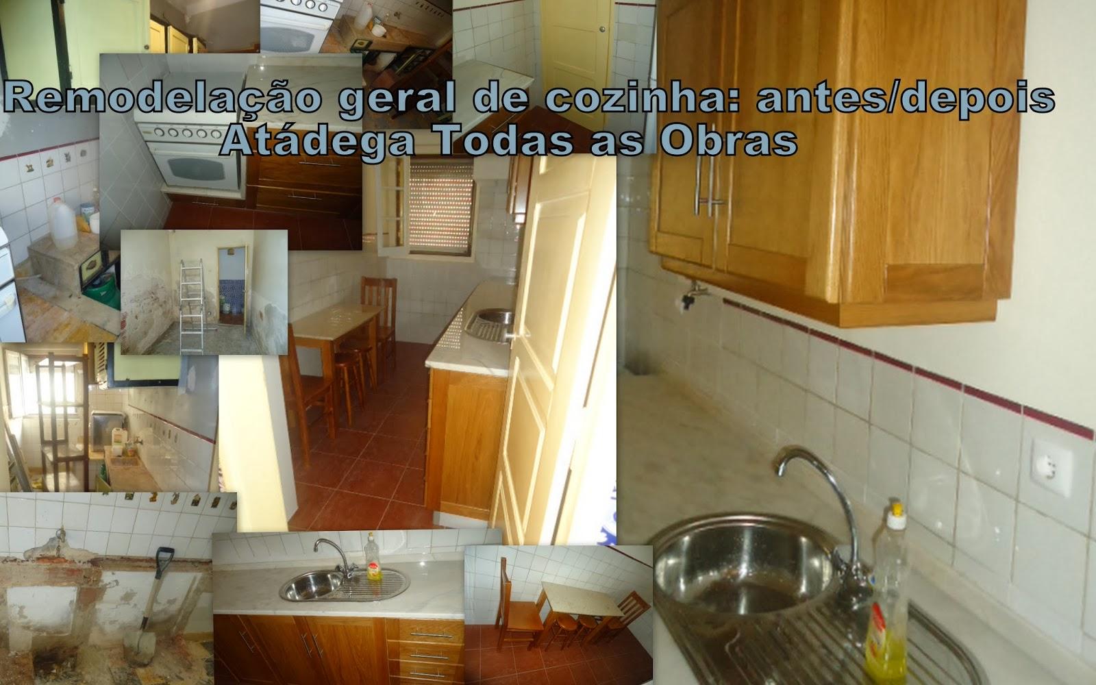Remodelação e Reabilitação Urbana: Remodelação geral de cozinha  #6C3D14 1600 1000