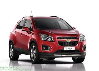 Harga Chevrolet Trax Mobil Terbaru 2012