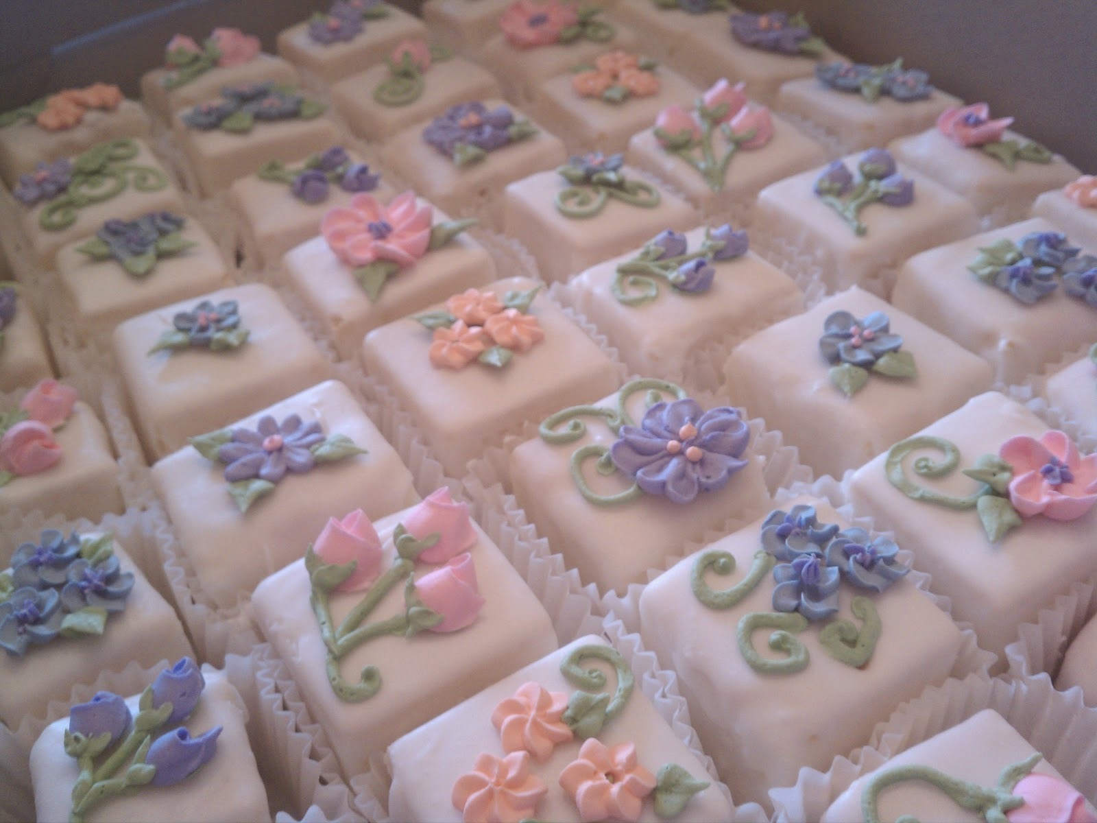 Simply Sweet: Tea Party Petit Fours and Cake