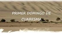 Recursos I Domingo Cuaresma