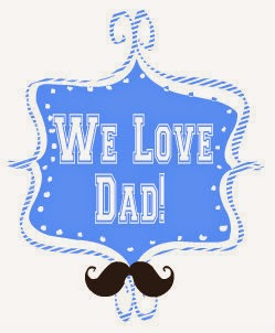 we love dad meme button