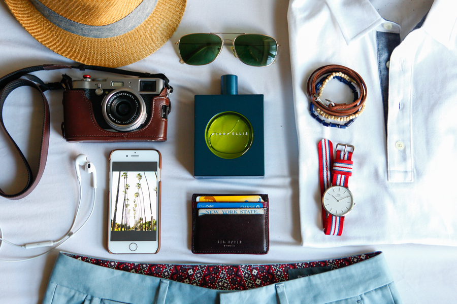 Levitate Style | Citron Getaway, Perry Ellis Citron Cologne, Weekend Road Trip Style