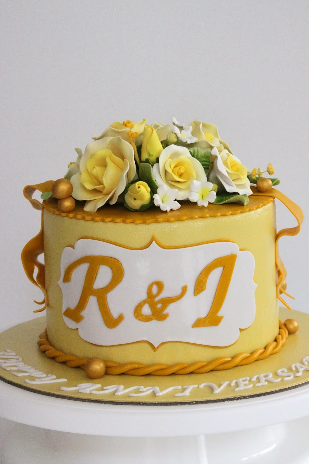 Celebrate with Cake!: Anniversary Cake