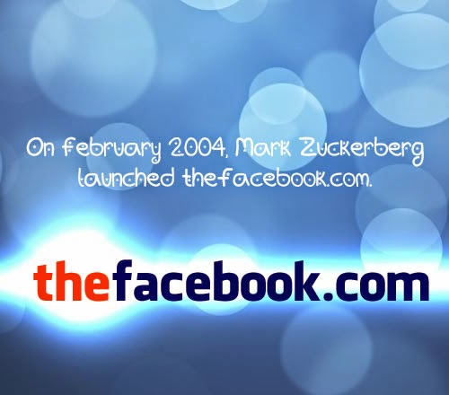 thefacebook.com - launched 2004