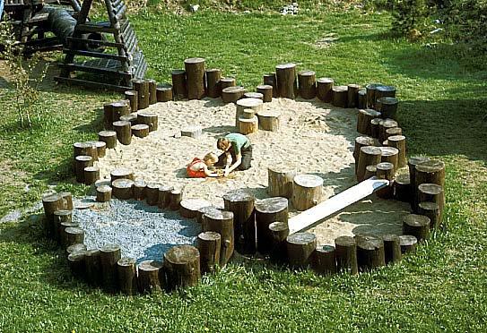 playground sandbox ideas natural playgrounds playground ideas