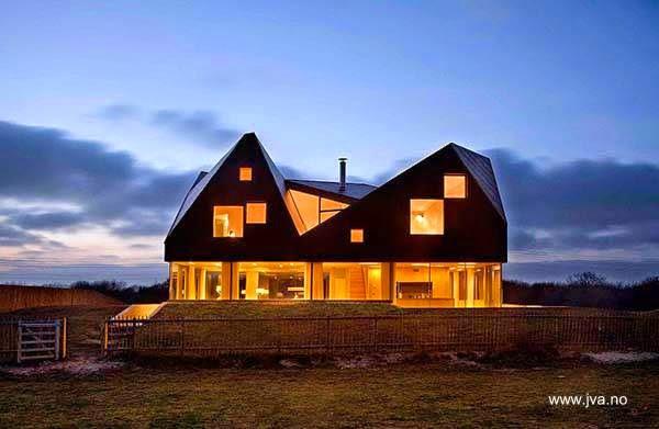 Techos para casas de campo free ltimos trabajos de for Casa holandesa moderna