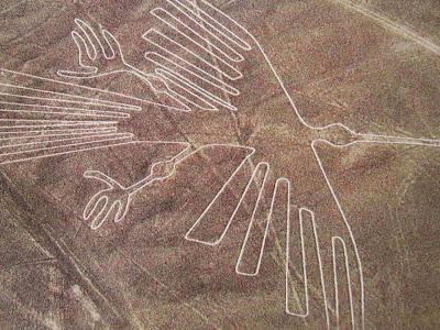 Objek Burung - Misteri Lukisan Bergaris Di Gurun Nazca, Peru