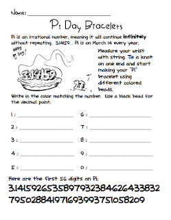 Cheers to School: Pi Day and Teacher's Notebook