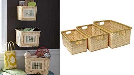 Transformation art reciclar cestas de mimbre - Canastos de mimbre ...