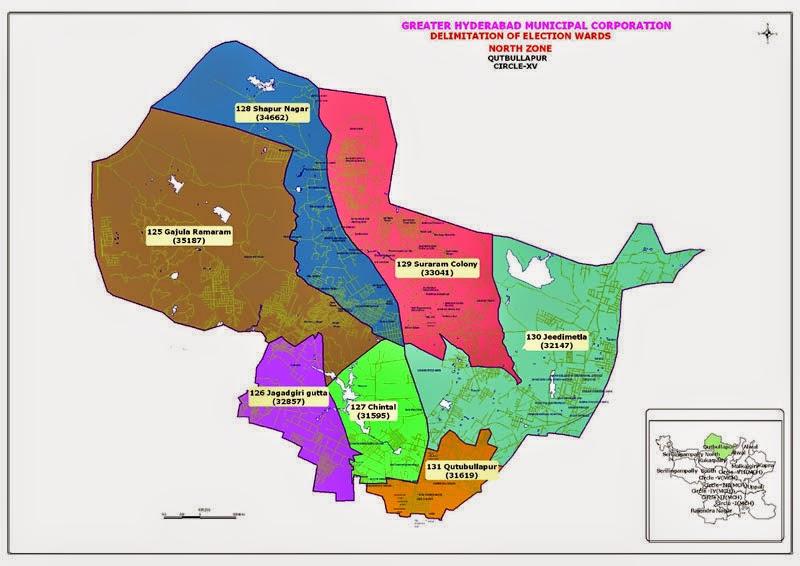 GHMC Circle 15 Map