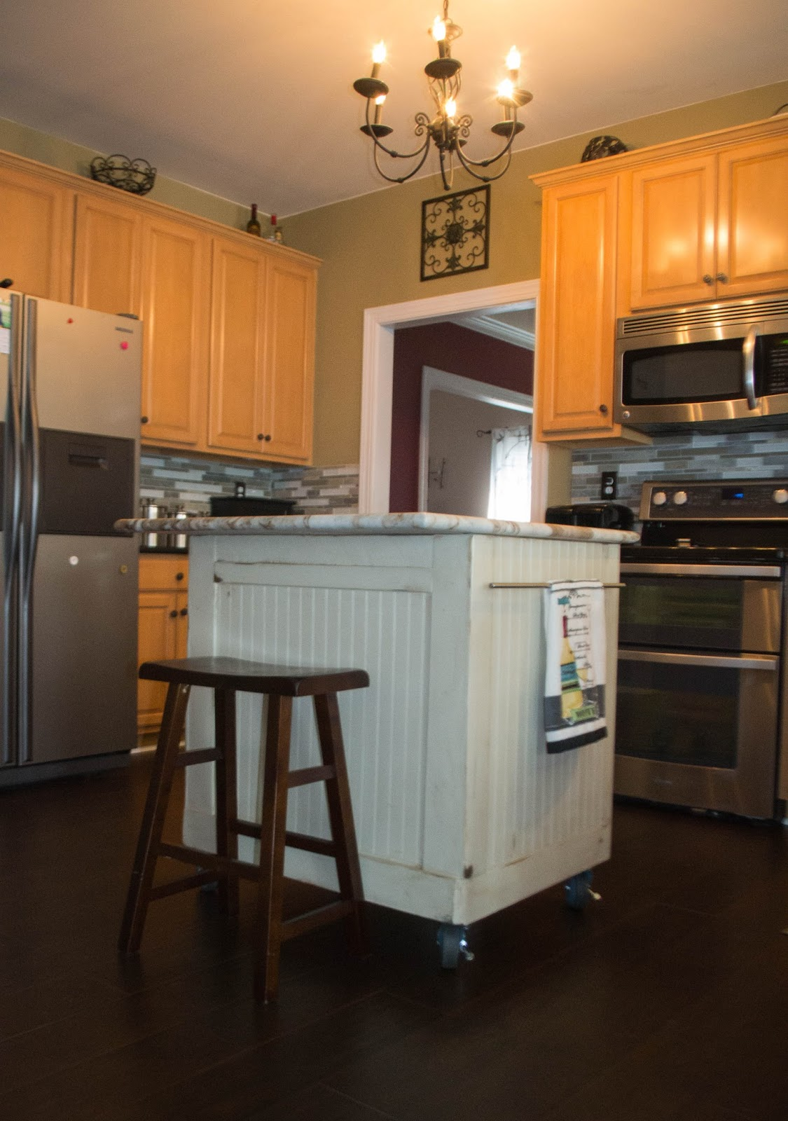 Kitchen Redo Down To Earth Style Nosey Neighbor Kitchen Redo 2