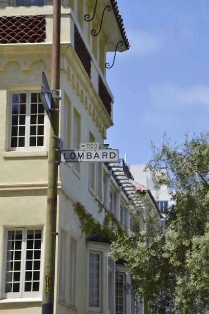 Lombard Street. San Francisco