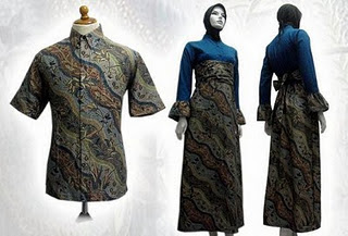 PO A7 MODEL BAJU BATIK WANITA MODERN