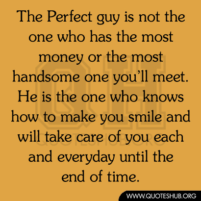 How To Meet The Perfect Guy