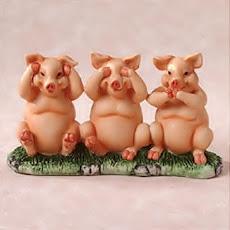 Seus porquinhos!!!