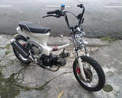 My Bike Honda Cub 86