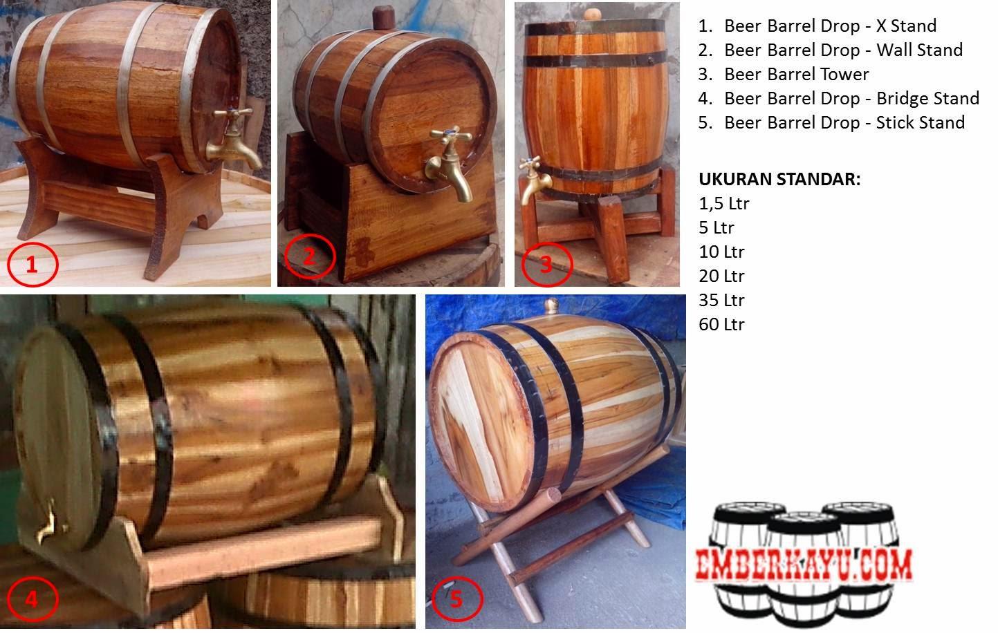 Beer Barrel kayu, Barrel Bir kayu, Tong Bir kayu, Gentong Bir kayu, Gentong Beer kayu, Tong Beer