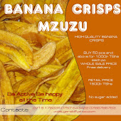 BANANA CRISPS - MZUZU