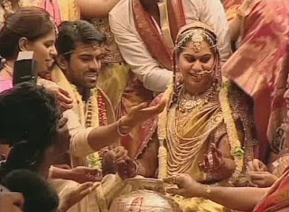 Ram Charan Wedding stills