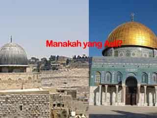 Manakah Masjidil Aqsa Yang Asli ?
