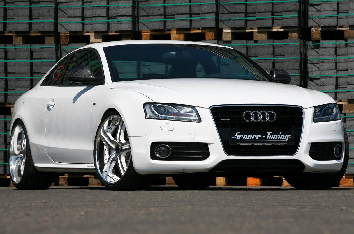 Cars Audi A5 White