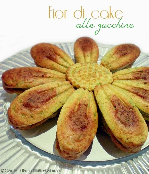 Fior di cake alle zucchine