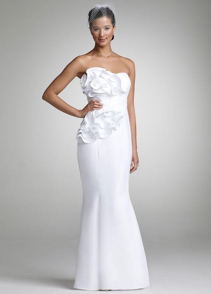 Events by tammy affordable david 39 s bridal wedding dresses for Wedding dress david bridal