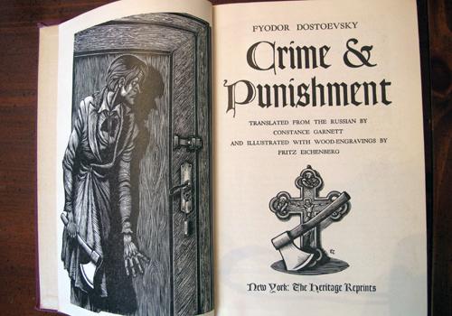 crime and punishment summary essay