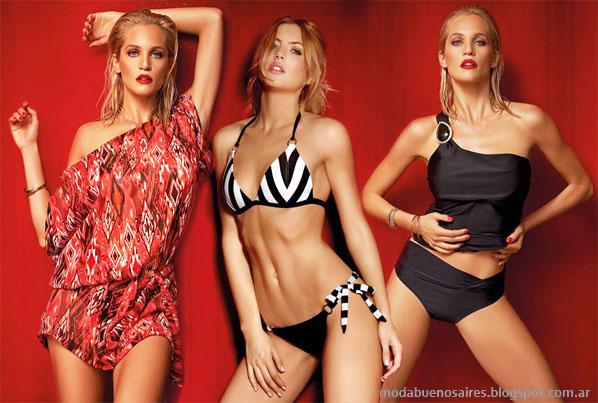 Moda 2014 bikinis, mallas y vestidos playeros Lody.