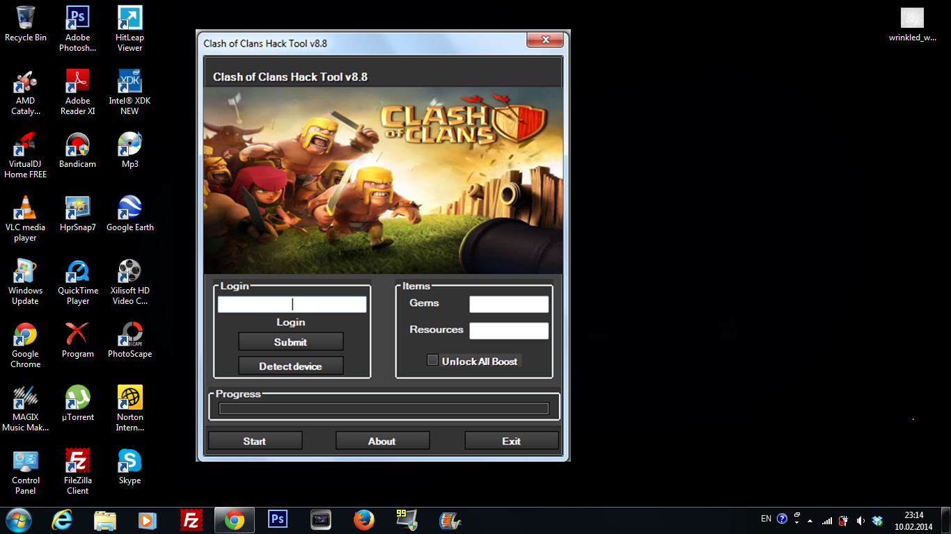 clash of clans hack apk for pc