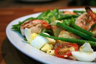 Shrimp Nicoise Salad