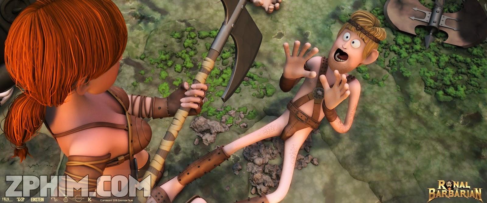 Ảnh trong phim Dũng Sĩ Bất Đắc Dĩ - Ronal The Barbarian 3