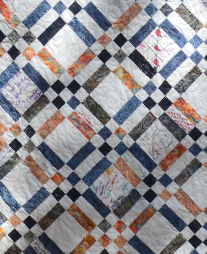 Beehive Quilts: Dan and Martha s Signature Wedding Quilt