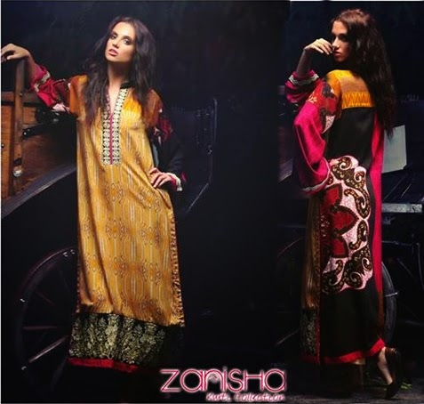 Zanisha Embroidered Linen Collection-14/15