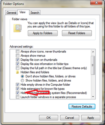Cara Melihat File Yang Di Sembunyikan Oleh Virus/System